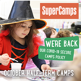 We're Back SuperCamps October Costume