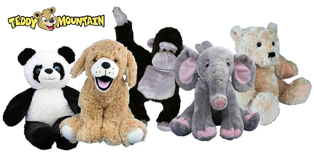 Stuffed toys for Children at SuperCamps