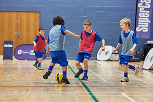 Summer holiday football camps with SuperCamps and Chelsea FC Foundation