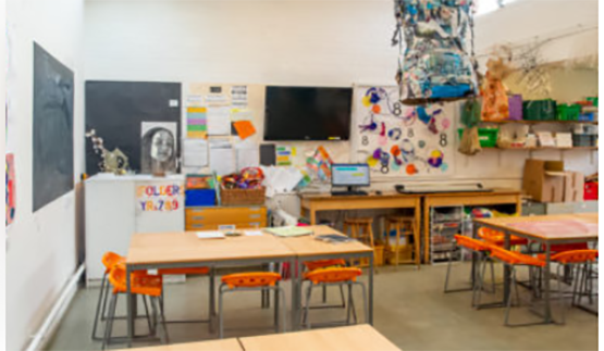 Bromley High Arts Room Facilities
