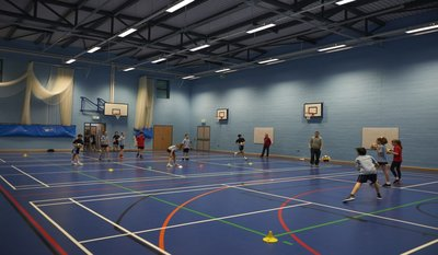 SuperCamps indoor sports and activities for kids at North Bridge House Senior School