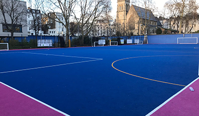 Pimlico Academy outdoor astro turf pitch