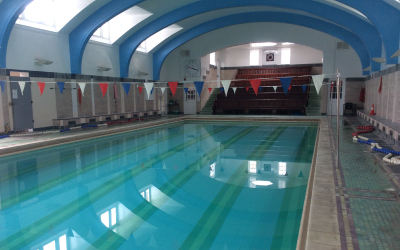 SuperCamps school holiday childcare at The Royal Masonic,Indoor swimming pool