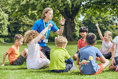 Activity Leader with Children