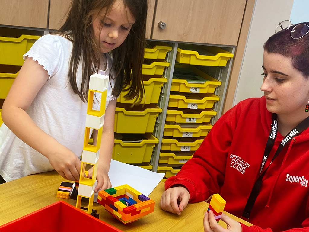 Building Lego Structure
