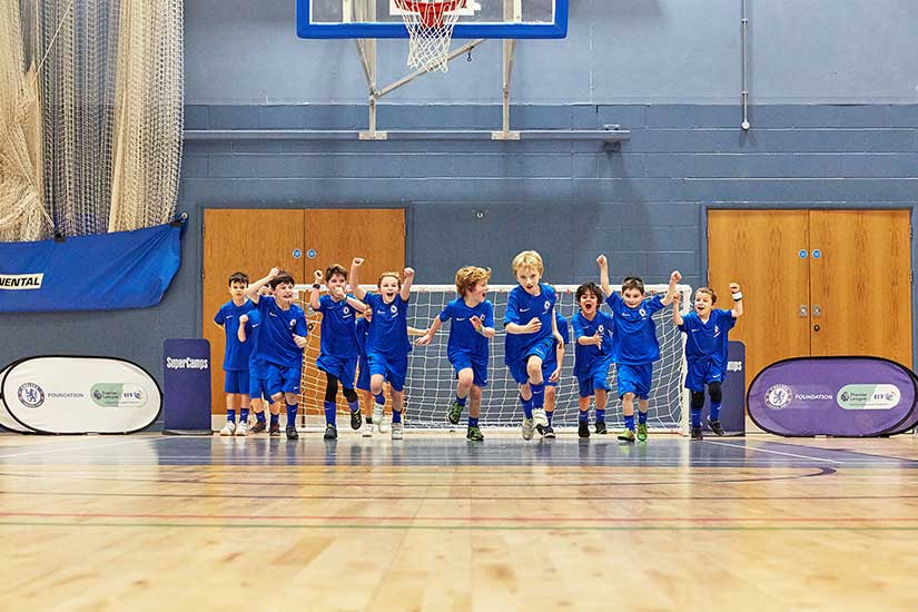 SuperCamps Chelsea FC Foundation school holiday football