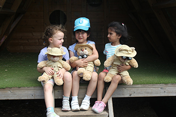 Build Your Own Bear at SuperCamps Multi-Activity camps